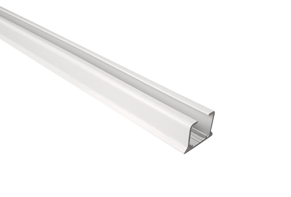 Szyna sufitowa aluminiowa biała 160 cm - sklep internetowy - Karnisze na wymiar - wysyłka 48h